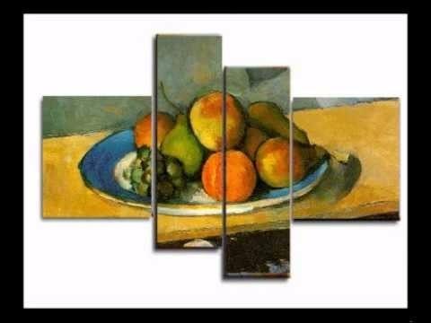 Cuadros Modernos Tripticos Cocina Comedor Pintados 2 530 00