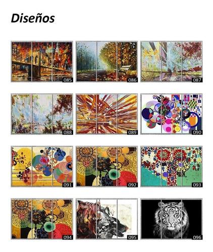 cuadros murales tripticos modernos decorativos impresos