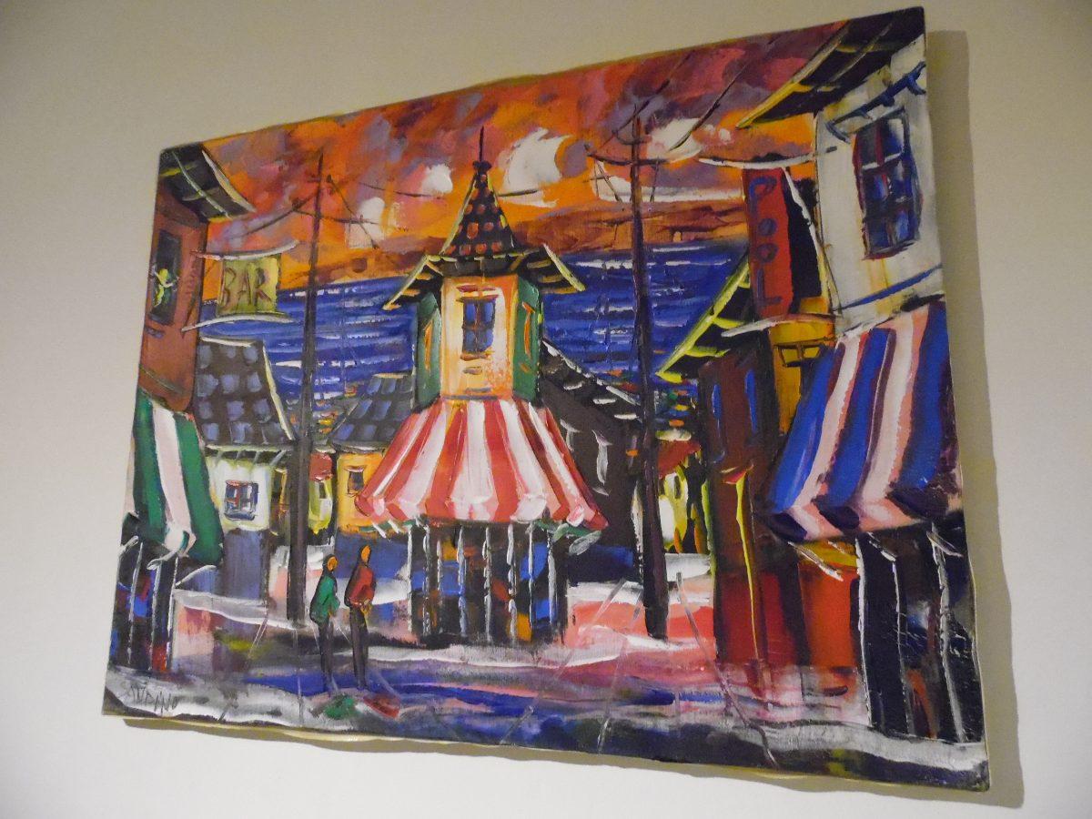 Cuadros o pinturas al oleo sobre tela paisajes sin marco - Cuadros sin marco ...