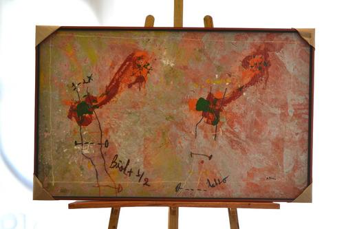 cuadros obra de arte en umberto capozzi autor alberto riera