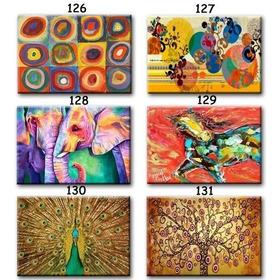Cuadros Obras Famosas-paisajes-abstractos, En Lienzo Algodón