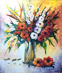 Cuadros De Flores Para Pintar Al Oleo