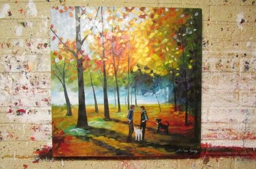 cuadros paisajes modernos acrilicos sobre tela