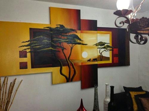cuadros para decoracíon  al oleo sobre lienzo