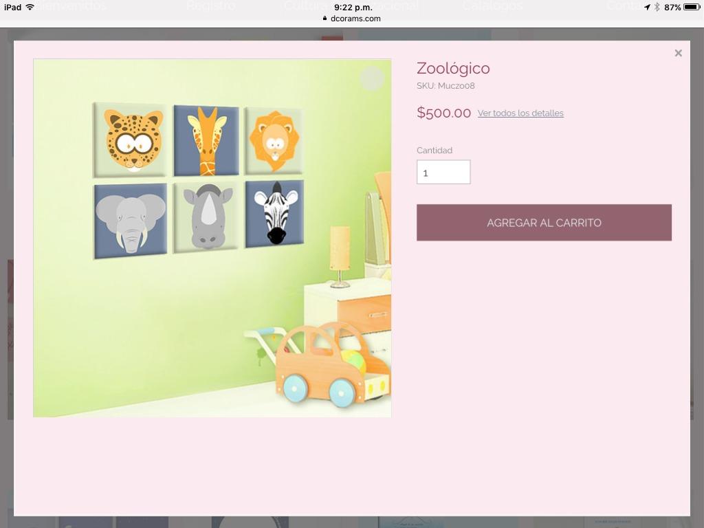 Cuadros para decorar las habitaciones de tus peque os for Cuadros para decorar habitaciones