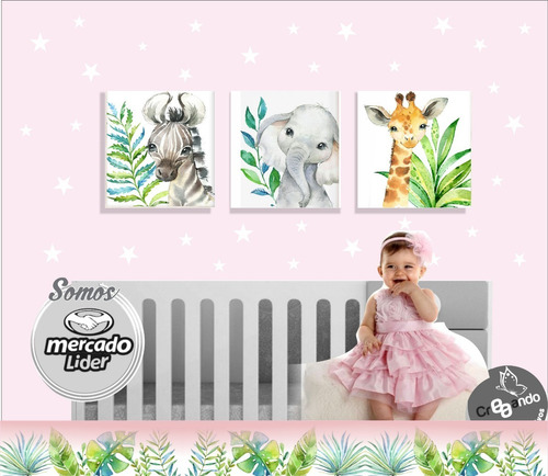 cuadros para niña o bebes 25x25 cm / retablos infantiles