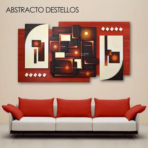 cuadros para sala al óleo. pintados a mano. enmarcados
