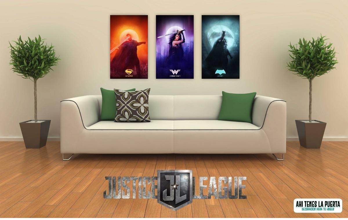 Cuadros Pelicula Liga De La Justicia Decoraci N Comics 150  # Muebles A Medida La Justicia