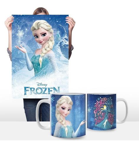 cuadros personalizados más taza 11oz. de frozen 0001