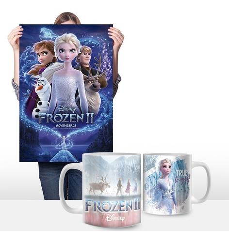 cuadros personalizados más taza 11oz. de frozen 0002