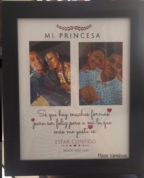 Cuadros personalizados para mi princesa enamorados s - Cuadros fotos personalizados ...