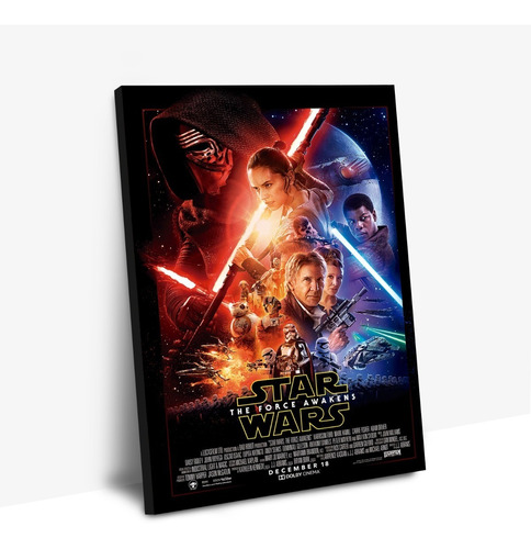 cuadros / personalizados star wars the force awakens