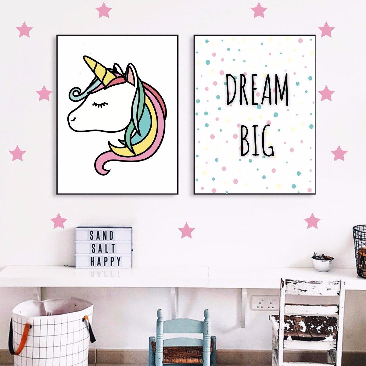 Cuadros Personalizados - Unicornio Dream - S/ 30,00 en Mercado Libre