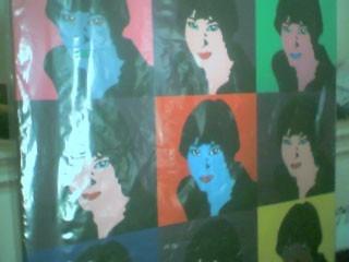 cuadros pintados a mano modernos reproducciones pop art otro