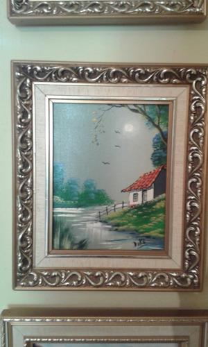 cuadros pintados al oleo por de moya y duke