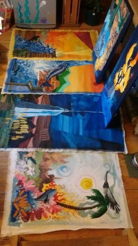 cuadros  pintura arte contemporaneo figurativo original