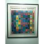 Litografía Enmarcada Victor Vasarely: Planetarishe Folklore