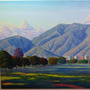 Avila Golding 30x70 Cuadros Pintura Oleo S/ Tela Horacio G.