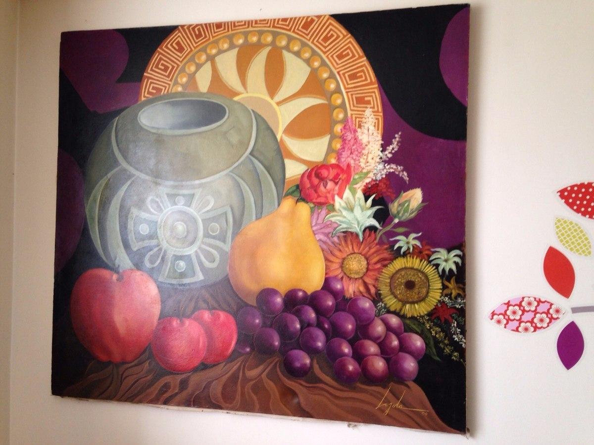 cuadros pinturas oleos bodegones decorativos grandes