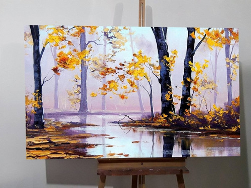 cuadros pinturas otoños paisajes, flores tonos neutros.
