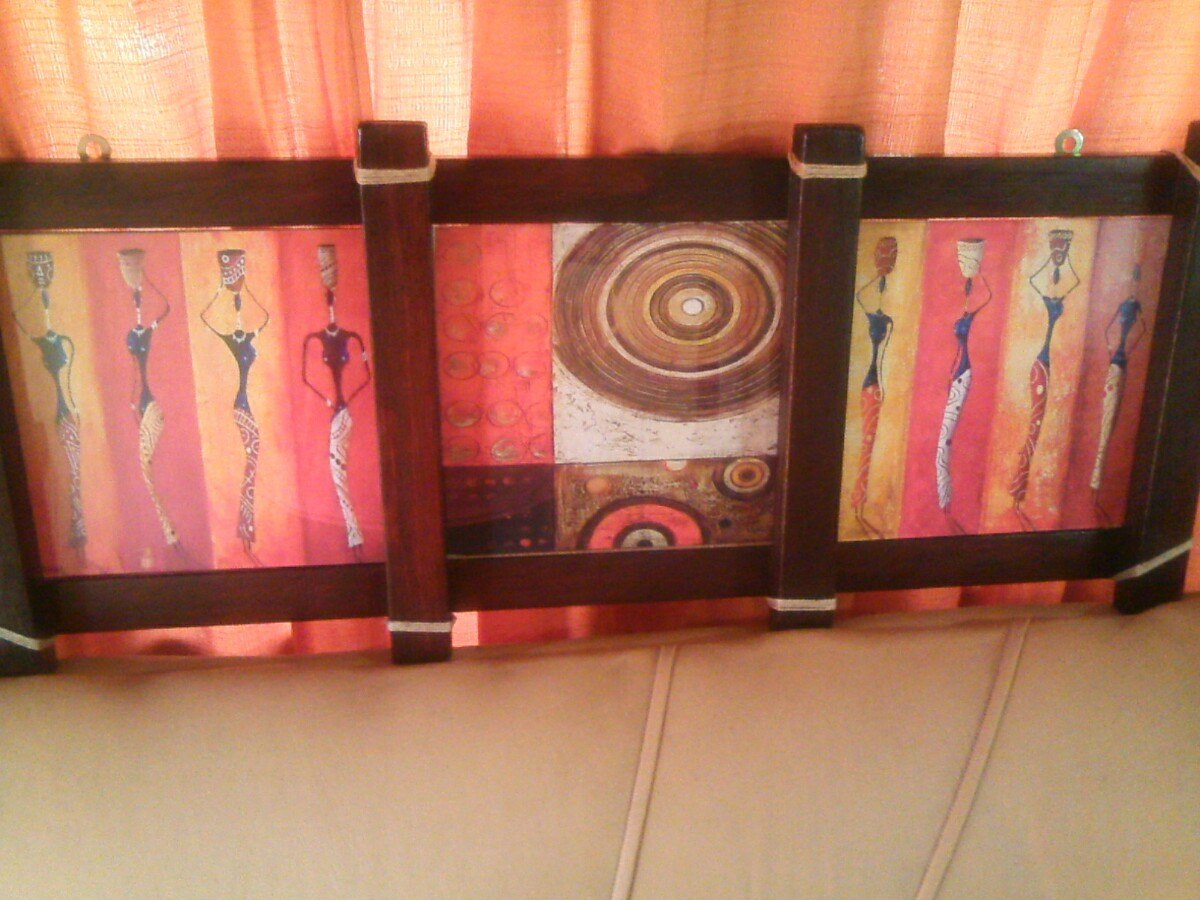 Cuadros portarretratos y marcos en madera artesanales - Cuadros y marcos ...