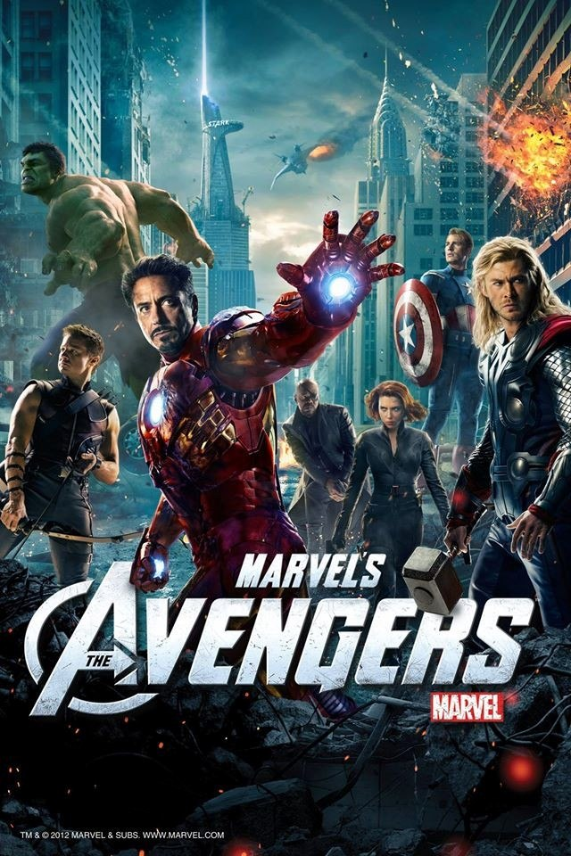 Cuadros Poster Afiches The Avengers Pelicula - 19x25 - $ 150,00 en ...