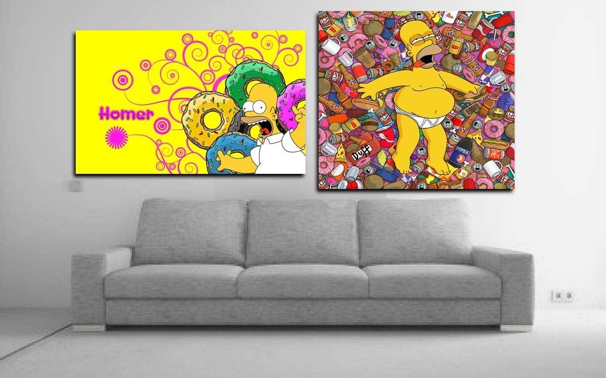 Cuadros Posters De Los Simpsons S 30 00 En Mercado Libre