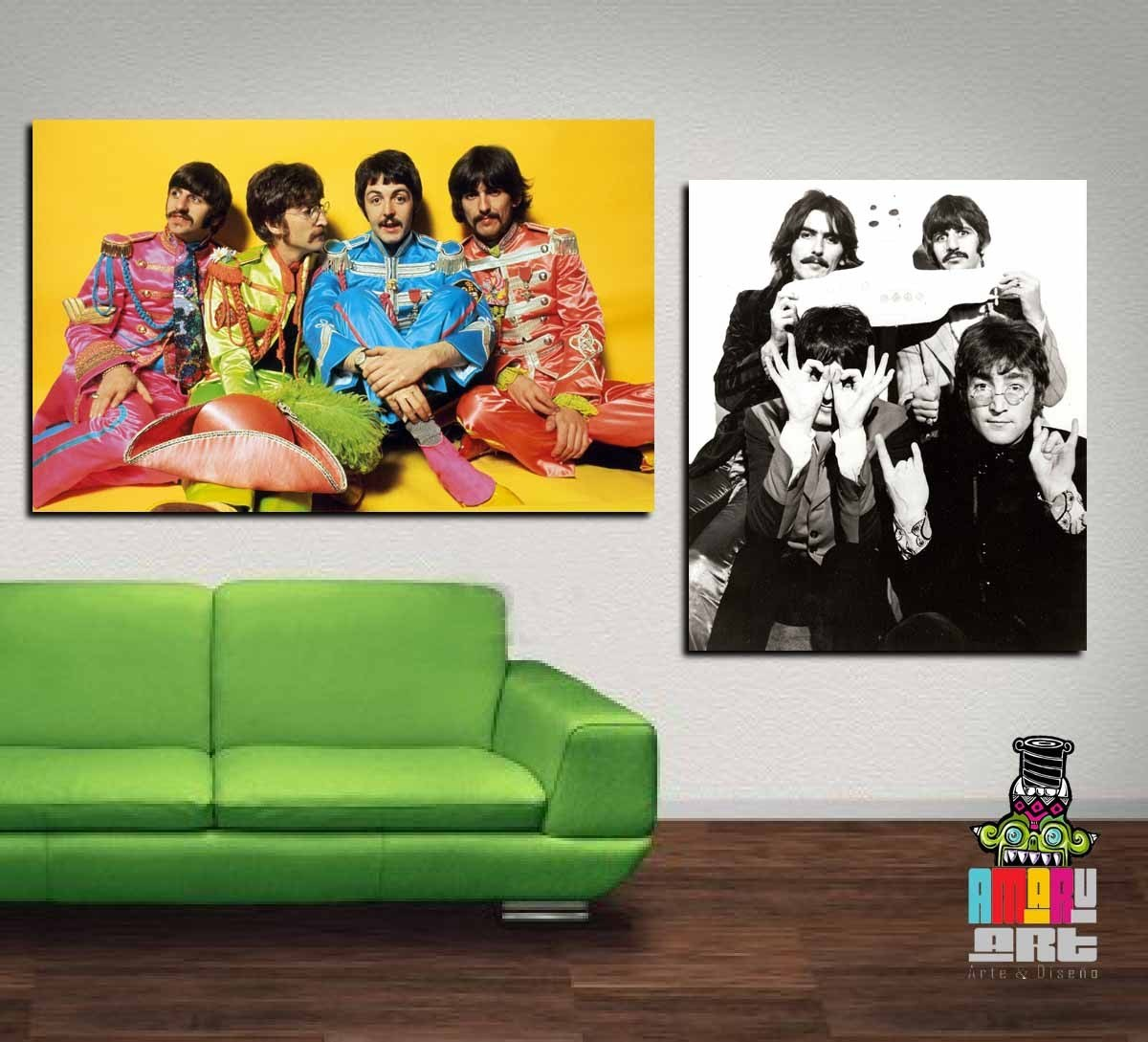 Cuadros posters de the beatles s 30 00 en mercado libre - Posters para pared ...