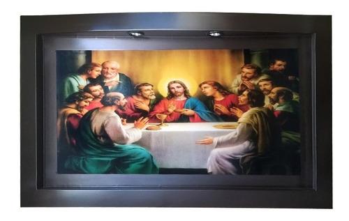 cuadros religiosos con luz