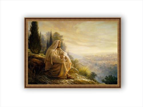 cuadros religiosos impresos en lienzo,  enmarcados 80x60cm