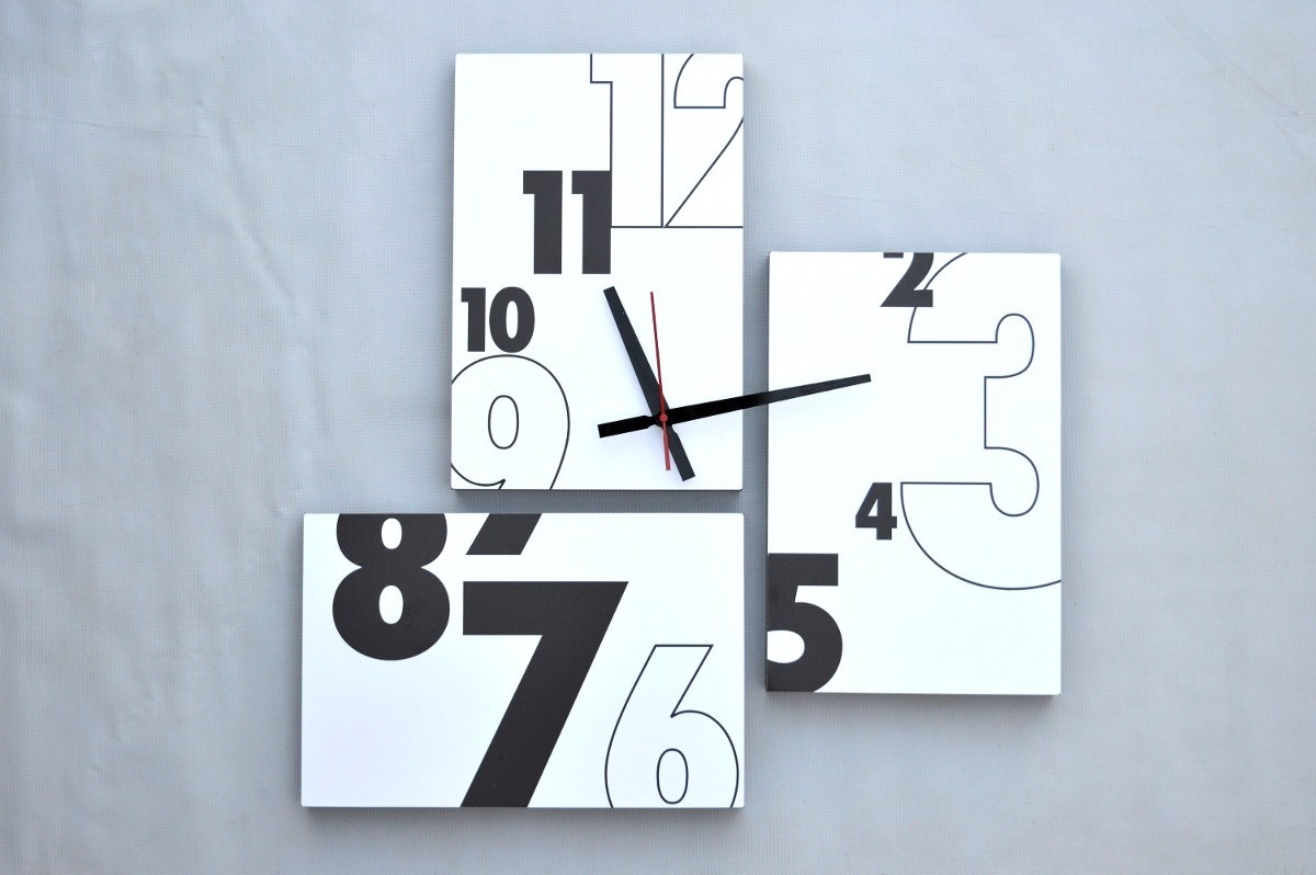17aec1132fd3 Cuadros Reloj Diseño Moderno De 60x60 Cm -   45.000 en Mercado Libre