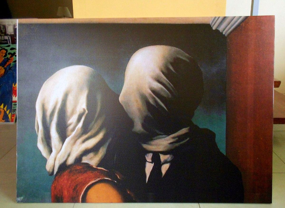 Cuadros Rene Magritte En Tela Lienzo Con Bastidor 50x60 - $ 890,00 ...