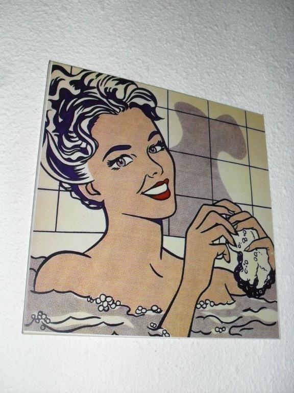 Es Bañandose S | Cuadros Roy Lichtenstein Mujer Banandose Arte Pop S 150 00
