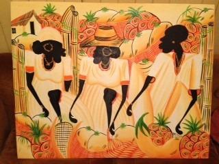 cuadros sobre tela al óleo. brasileños