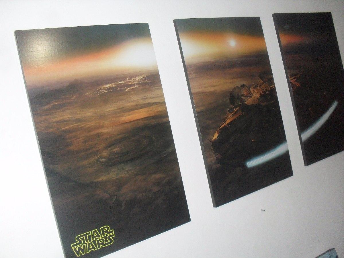 Cuadros Tripticos Star Wars - Carteles Decorativos en Mercado Libre ...