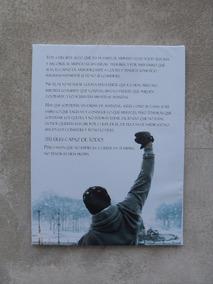 Cuadros Tela Canvas Rocky Balboa Y Sus Frases Iconicas