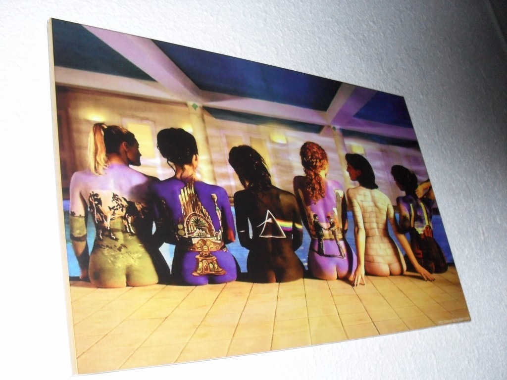 Cuadros The Classic 1997 Pink Floyd Back Catalogue Poster 275