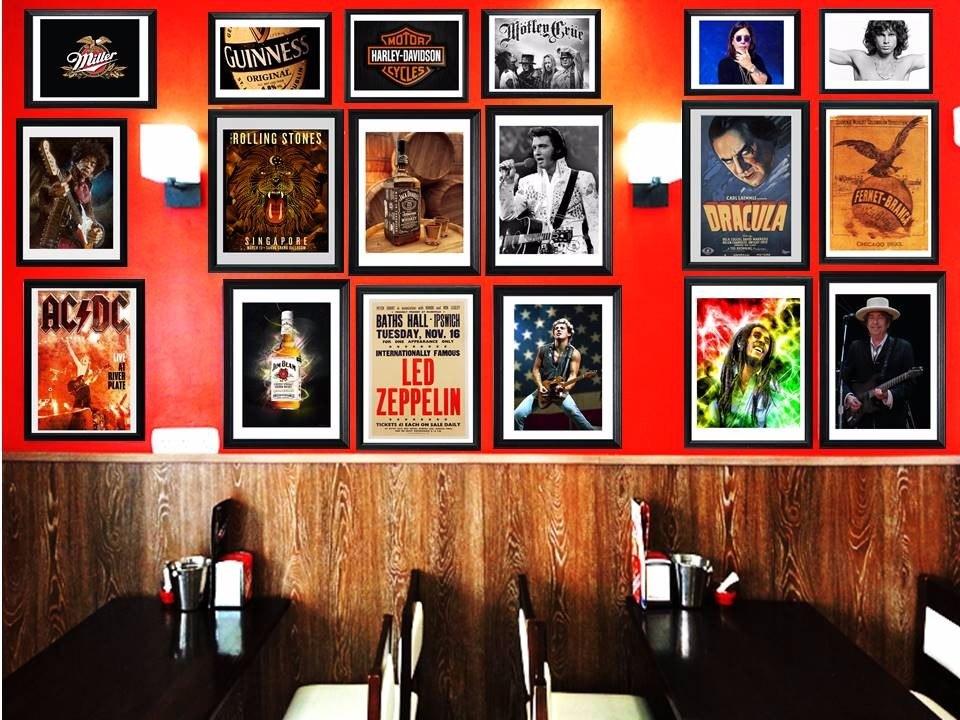 Cuadros The Rolling Stones!!! Marco Madera+vidrio+foto! Deco - $ 549 ...