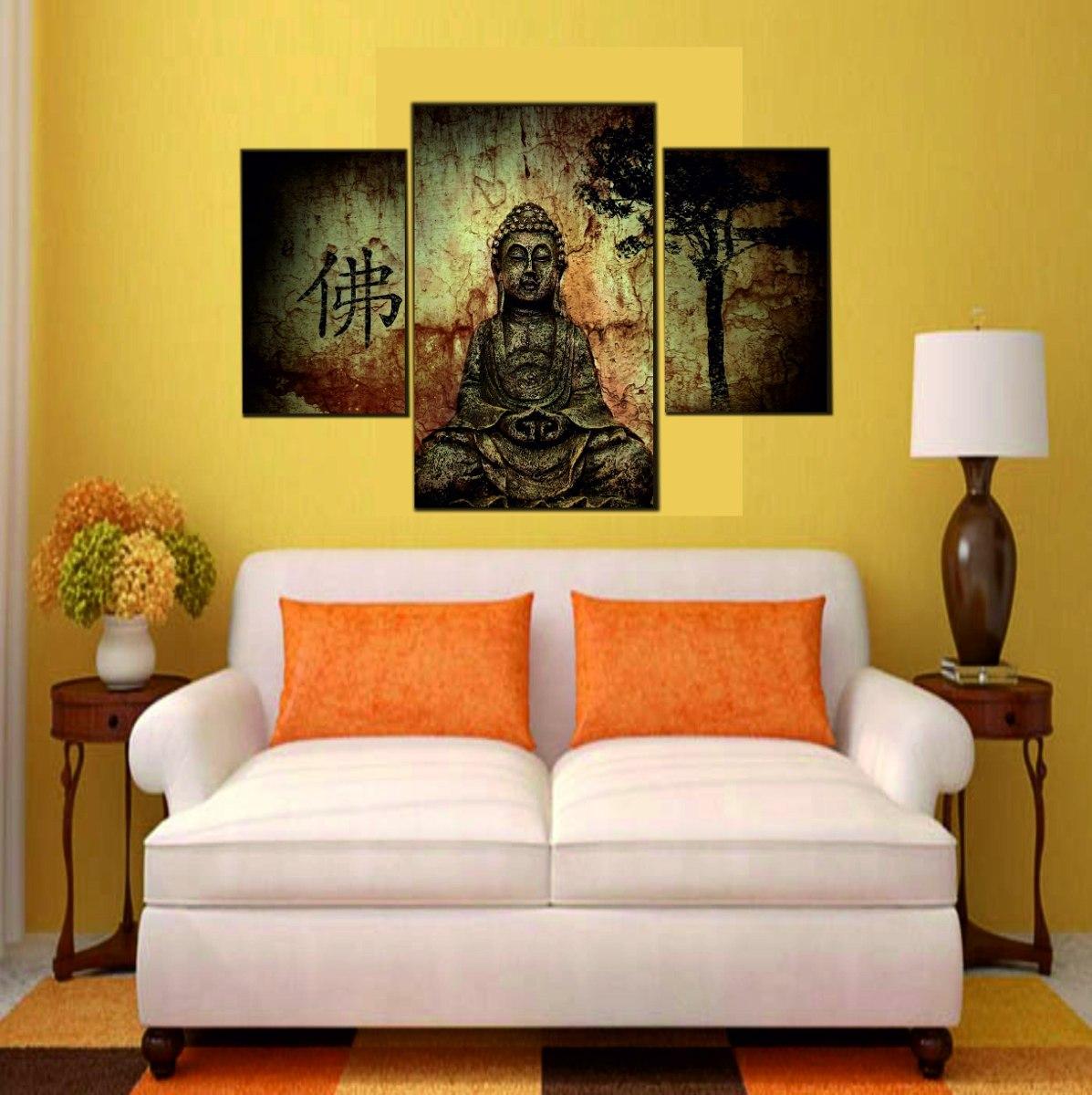 Cuadros Tripticos Impresos Buda Cala Africa Egipto 260 00 En  # Muebles Egipcios Caracteristicas