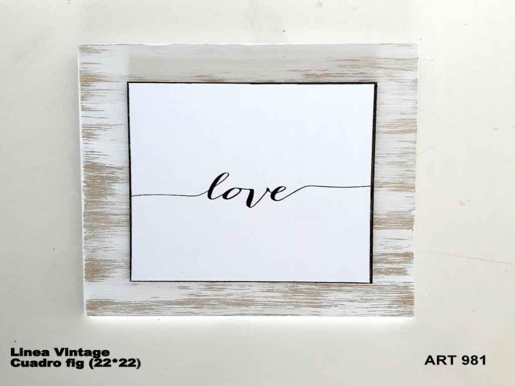 Cuadros Varios Linea Vintage Mensajes Fondo Blanco 22x22cm - $ 330 ...