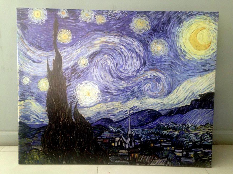 Cuadros Vincent Van Gogh En Tela Canvas Con Bastidor - $ 960,00 en ...
