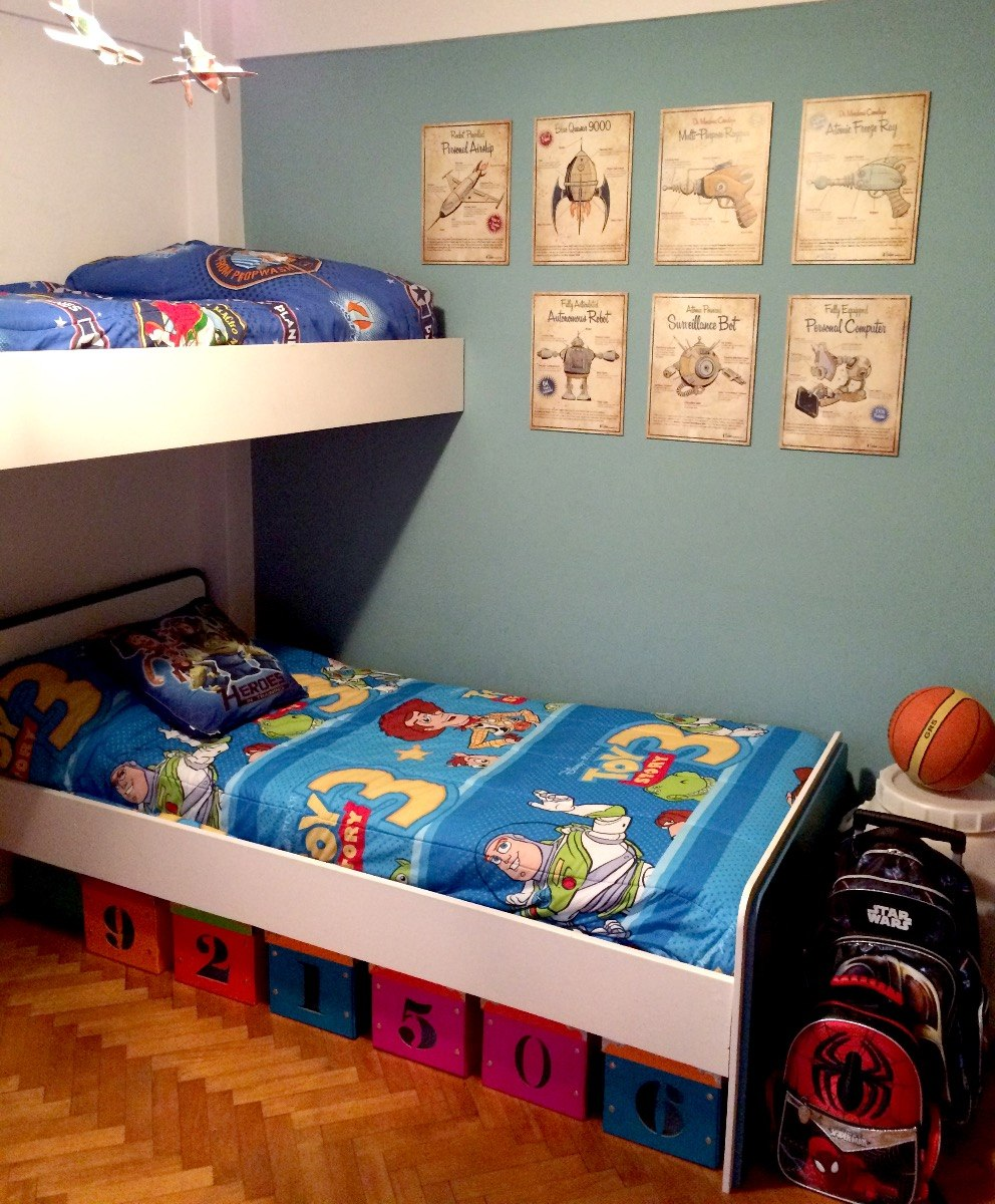 Cuadros Vintage Cuarto De Niños Decoración Habitación Retro - $ 150 ...