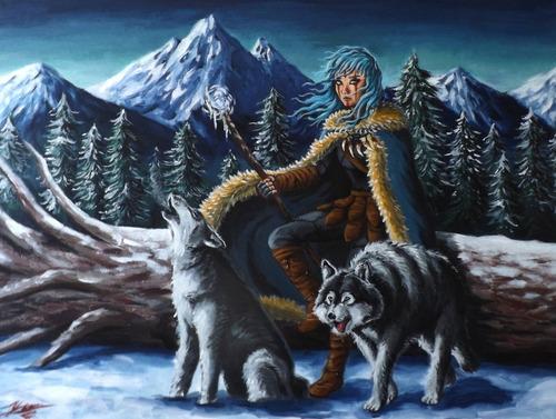 cuadros y pinturas originales de pintor yann villegas: