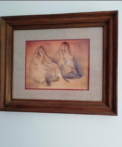 cuadros zúñiga y ruanova. bellos/arte mexicano remate!!!.