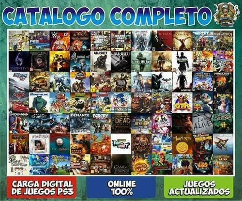 cualquier juego de ps3 digital al instante 100% original
