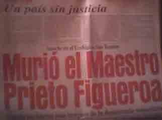 cuando murió luis beltrán prieto figueroa en 1993 cth vdh