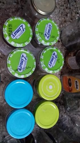 cuarentena, ideal p/preparar conservas.lotes 20 frascos vidr