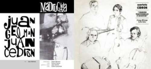 cuarteto cedron madrugada canciones tradicional cd x 2 nuevo