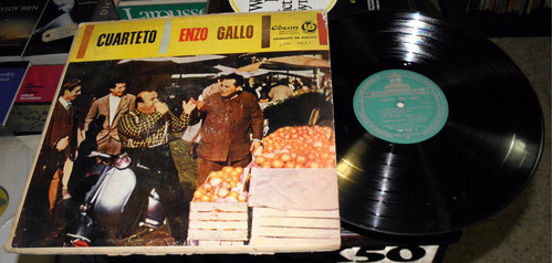 cuarteto enzo gallo disco lp vinilo