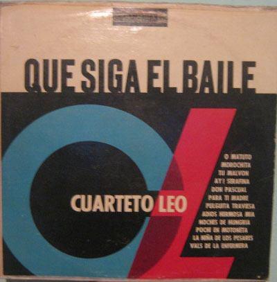 cuarteto leo - que siga el baile - 1963 lp importado uruguai